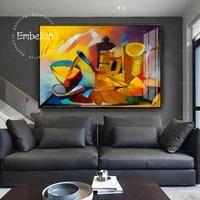 Peinture sur toile imprimee HD  1 piece  oeuvres dart celebres creatives de Picasso  images murales de mode  decor de maison moderne  affiche de salon