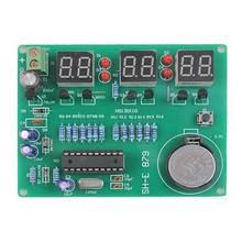 Kit de bricolage Module 9 V-12 V AT89C2051 6 numérique LED électronique horloge pièces composants bricolage Kits électroniques