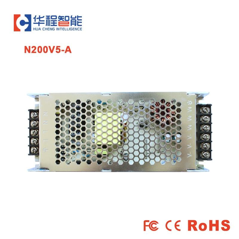 G-energy N200V5-A energía delgada 5V 40A 200W LED para uso de pantalla led 200-240V AC entrada P10 pantalla LED Ultra potencia de conmutación