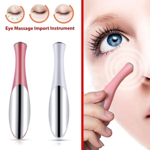 Mini Portable Electric Eye Massage Pen Device Facials Vibration Eye Care Inductive Massager Essence Import Beauty Instrument