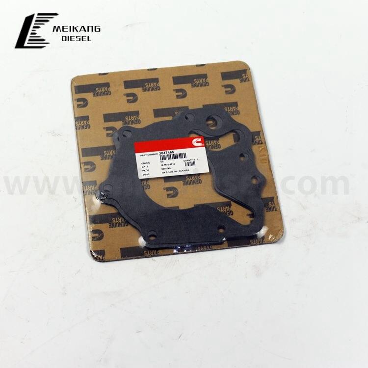 Lubricating Oil Cooler Housing Gasket 3047465 For Cummins Engine Parts K50