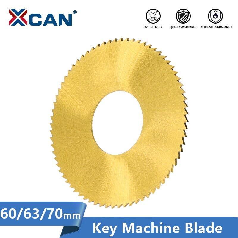 Lâmina de corte chave do revestimento da lata da lâmina 60/63/70mm da máquina chave de xcan para 238bs/238rs/2as ferramenta chave do serralheiro da máquina de corte