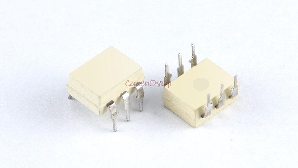 10 unids/lote MOC3051 DIP-6 SMD-6 optoacoplador TRIAC-en Stock