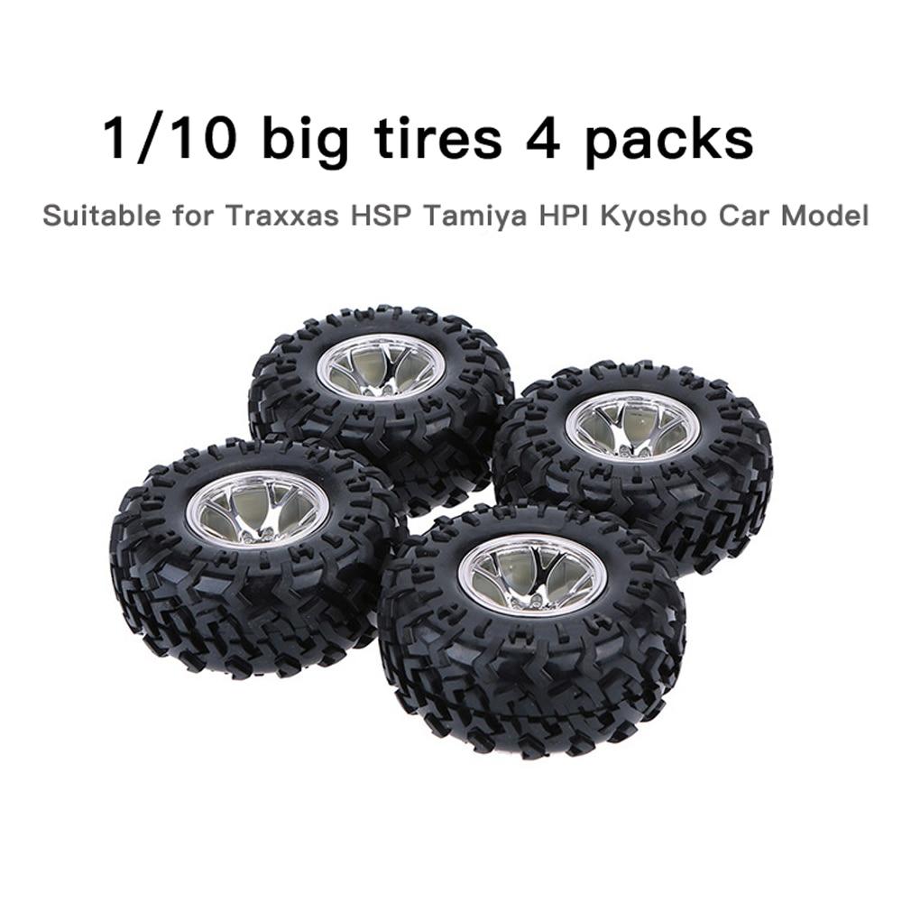 Резиновое колесо 4 шт./компл. 1/10 130 мм, Н�