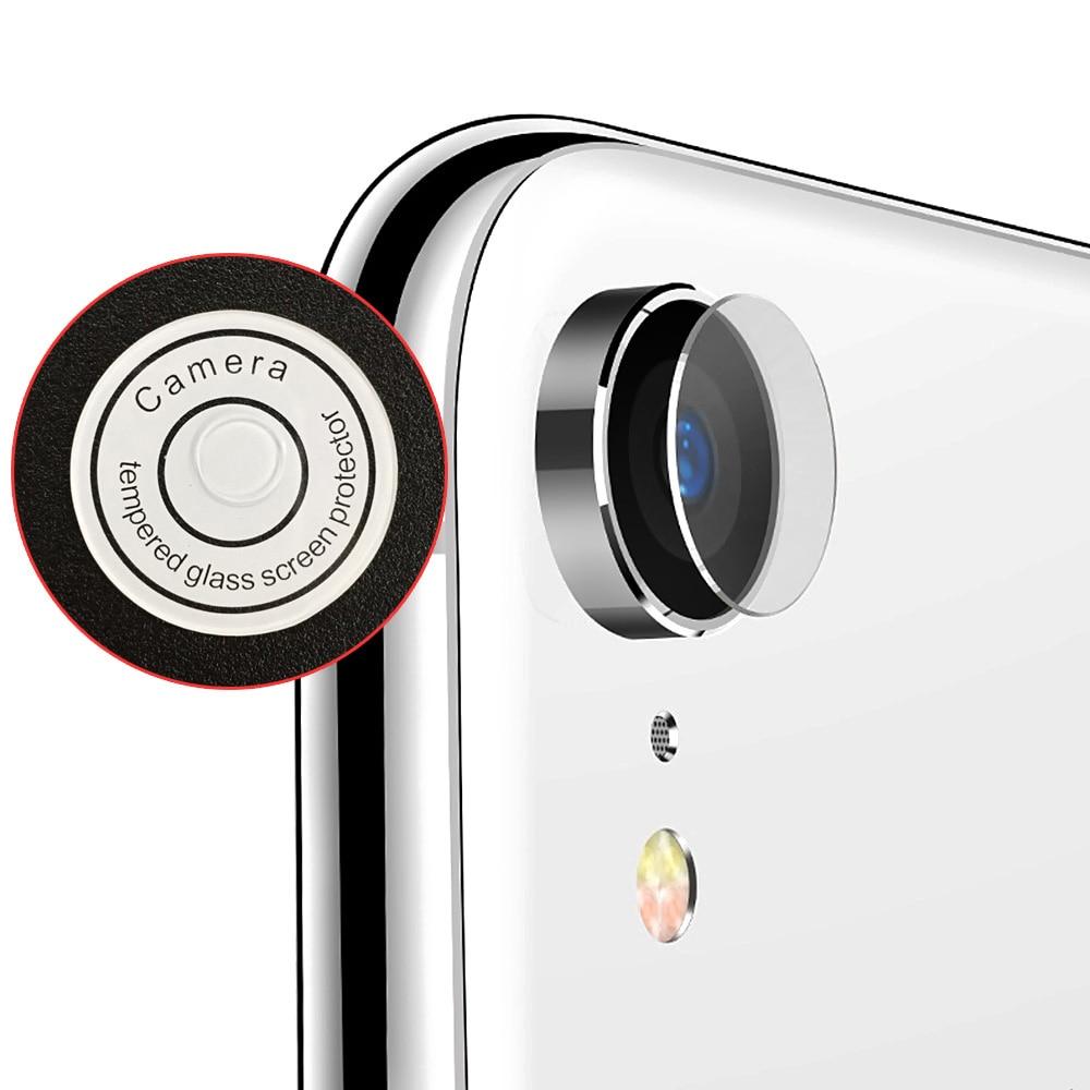 Protector de pantalla de cristal templado para la cámara trasera de iPhone XR, Ultra delgado HD de 0,2mm de grosor, 1 unidad