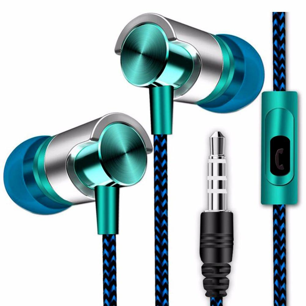 Wired Earphone For Phone iPhone Xiao mi Samsung Huawei Headset In-Ear Earphone With Mic In Ear Buds Earbuds Earpiece