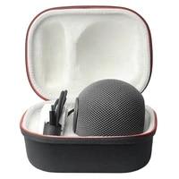 Boite de protection rigide pour haut-parleur intelligent  sac de rangement antichoc pour Apple HomePod  Mini etui de transport