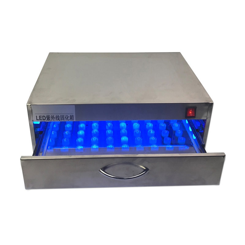 СВЕТОДИОДНЫЙ Прибор для отверждения печи УФ-лампа 84 Вт светильник для клеевой печи для ремонта ЖК-экрана