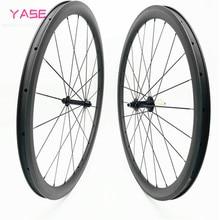 wheel set R39 38x25mm Carbon Road Bike Wheel Straight Pull Tubeless 700c Wheelset road bike wheels roue carbone pour velo route
