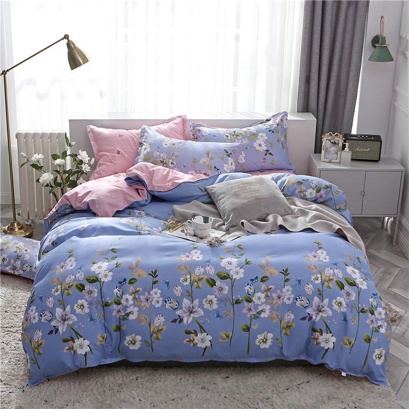 Juego de 30 fundas de edredón, ropa de cama, funda de almohada 3 uds, juego de cama, edredón/funda de Manta doble Queen King individual