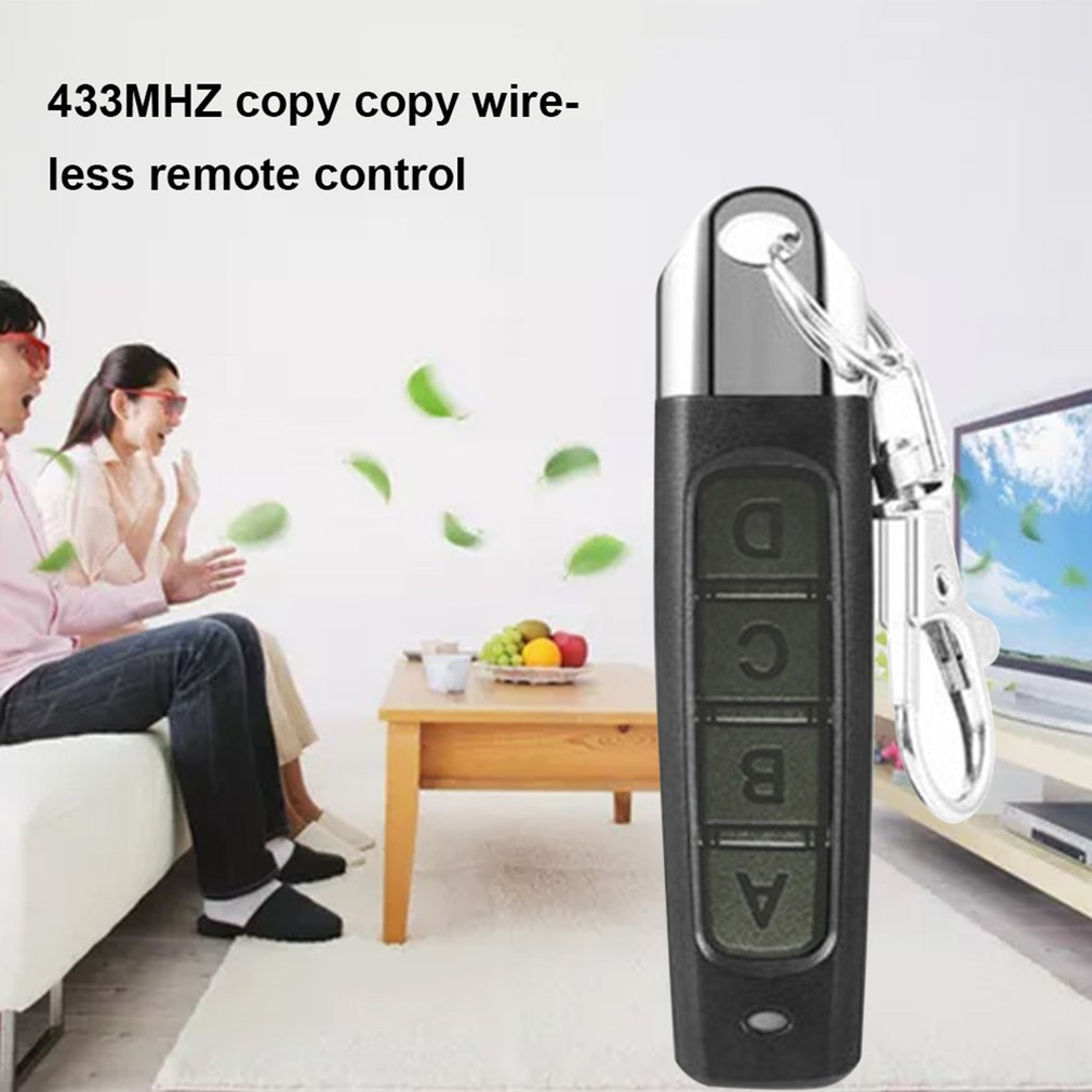 Electric Garage Door Key Universal Access Security Alarm 433 Pairs Copy Copy Wireless Remote Control
