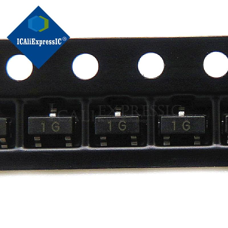 3000 sztuk BC847C BC847 SOT23 SOT SMD SOT-23 SOT23-3 1G tranzystor w magazynie