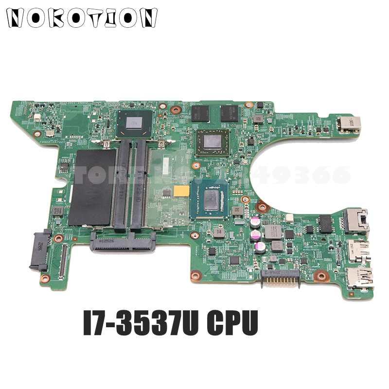 NOKOTION FJ7H9 0FJ7H9 11289-1 اللوحة الرئيسية لأجهزة الكمبيوتر المحمول ديل انسبايرون 14Z 5423 I7-3537U وحدة المعالجة المركزية HD7550M GPU