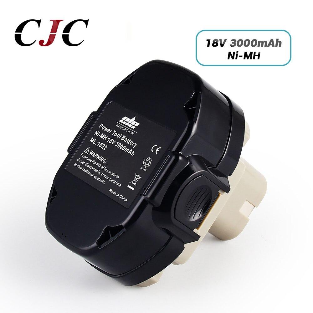 18V 3000mAh Ni-MH Batterie De Remplacement pour Makita 1822 1823 1834 1835 192827-3 192829-9 193159-1 193140-2 193102-0