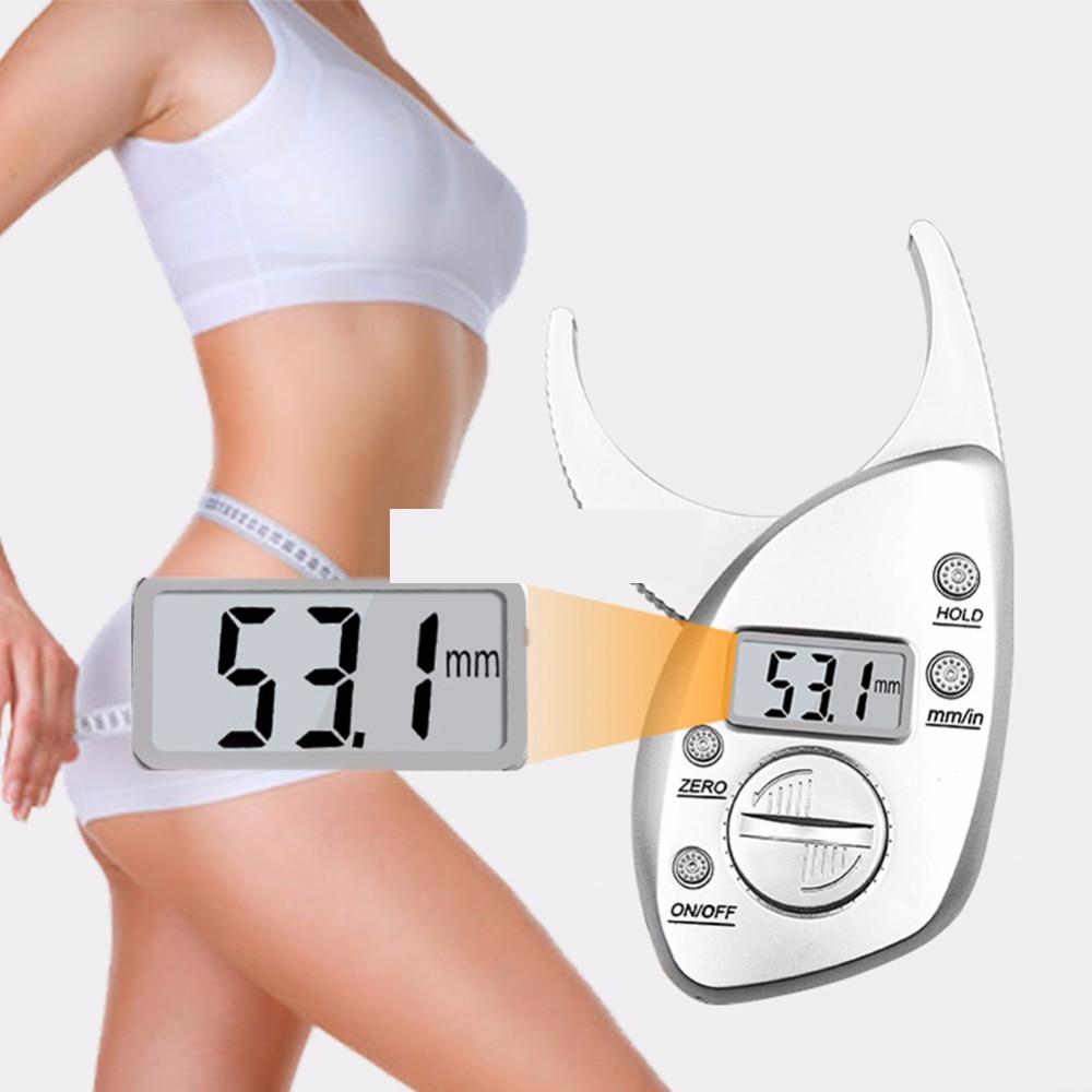 Тела штангенциркуль для замера жировых отложений тестер весы Фитнес монитор