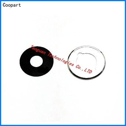 1 conjunto coopart nova câmera traseira lente de vidro com substituição do quadro para meizu mx5 mx 5 com etiqueta qualidade superior