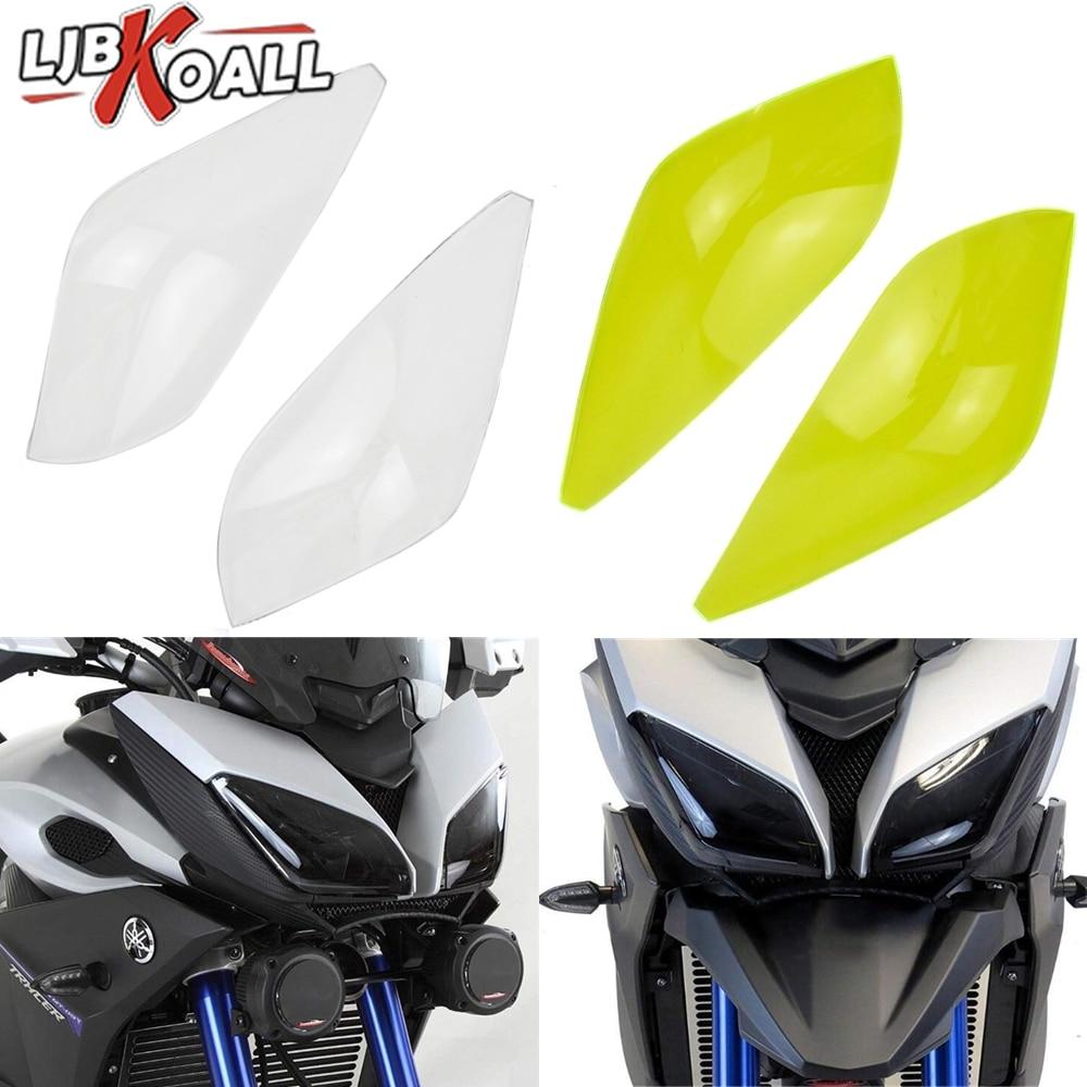 Motorcycle Headlight Guard Protector Screen Lens Cover For Yamaha MT 09 MT09 FJ-09 FJ09 MT-09 Tracer 900 2015 2016 2017 2018 New