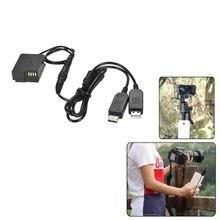 DMW-DCC8 Coupleur CC Adaptateur secteur USB Chargeur de Caméra Kit pour Panasonic DMC-FZ200 DMC-FZ1000 DMC-GH2 DMC-G5 DMC-G6 DMC-G7 Lumix G
