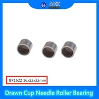 bk1622 needle bearings 162222 mm 5 pc drawn cup needle roller bearing bk162222 caged closed one end 8594122