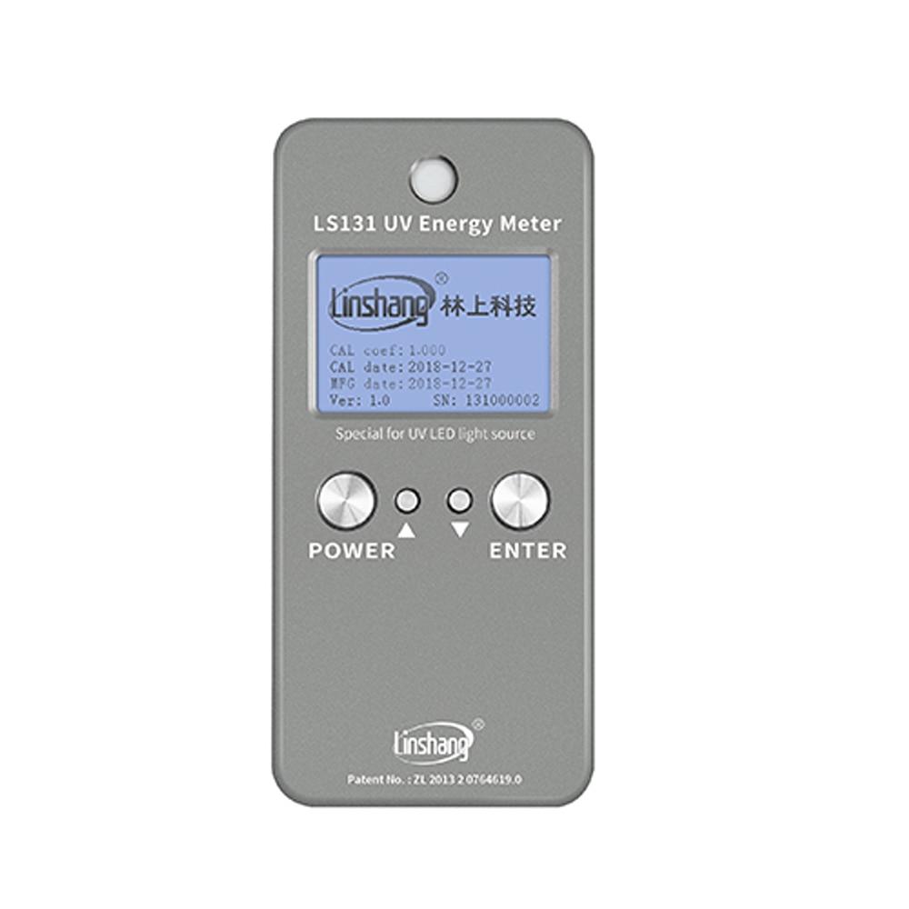 Medidor de luz UV LS131 medidor de energía ultravioleta memoria de capacidad Arge que puede grabar hasta 60.000 unidades de datos de potencia