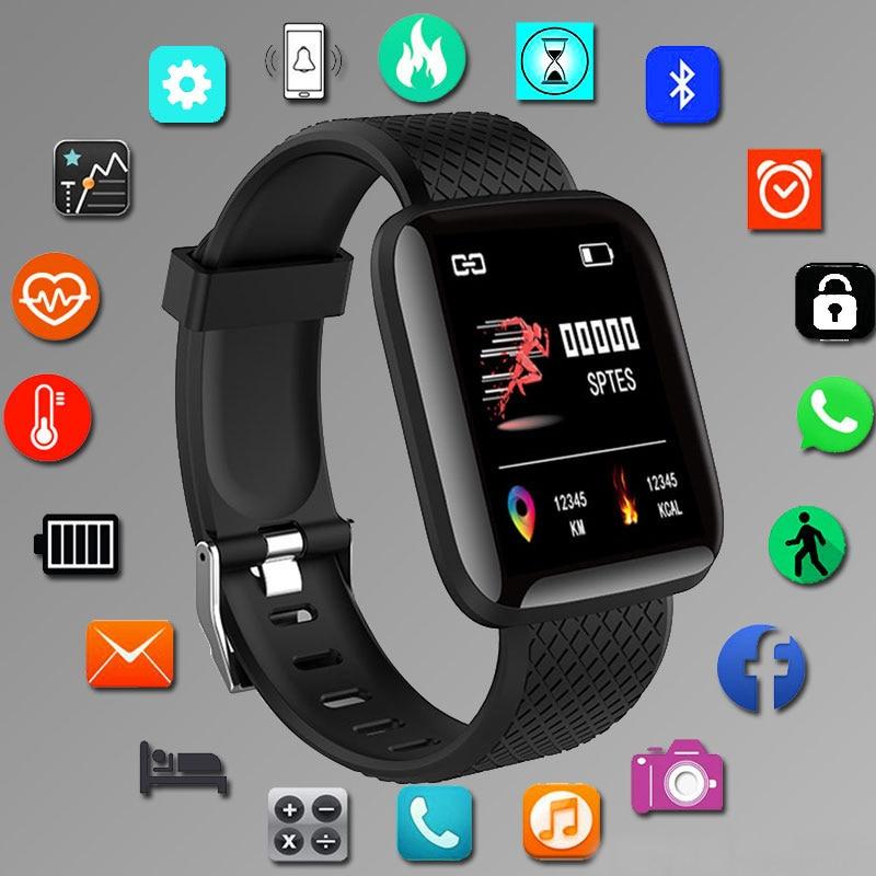 Цифровые умные спортивные часы, мужские часы, цифровые светодиодные электронные наручные часы, Bluetooth фитнес-часы, женские, детские часы hodinky