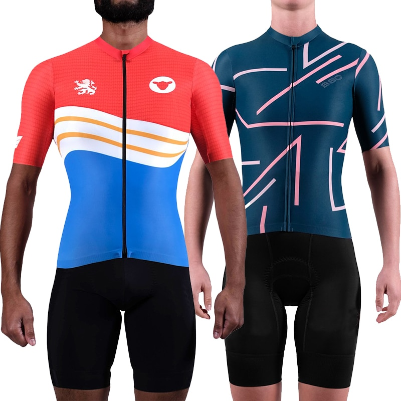 España go pro team BLACK SHEEP 2020 Conjunto de jersey de manga corta para ciclismo maillot bicicleta maillot kits de ciclismo