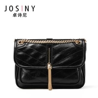 josiny new clamshell ladies shoulder bag ladies high quality leather pu messenger travel bag ladies handbag