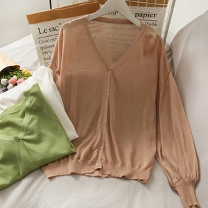 Women Fashion Slim Bodycon Button Open Knitted Blouse Lady Sweet Casual Outdoor Top Girls Elegant Daily Basic Shirt