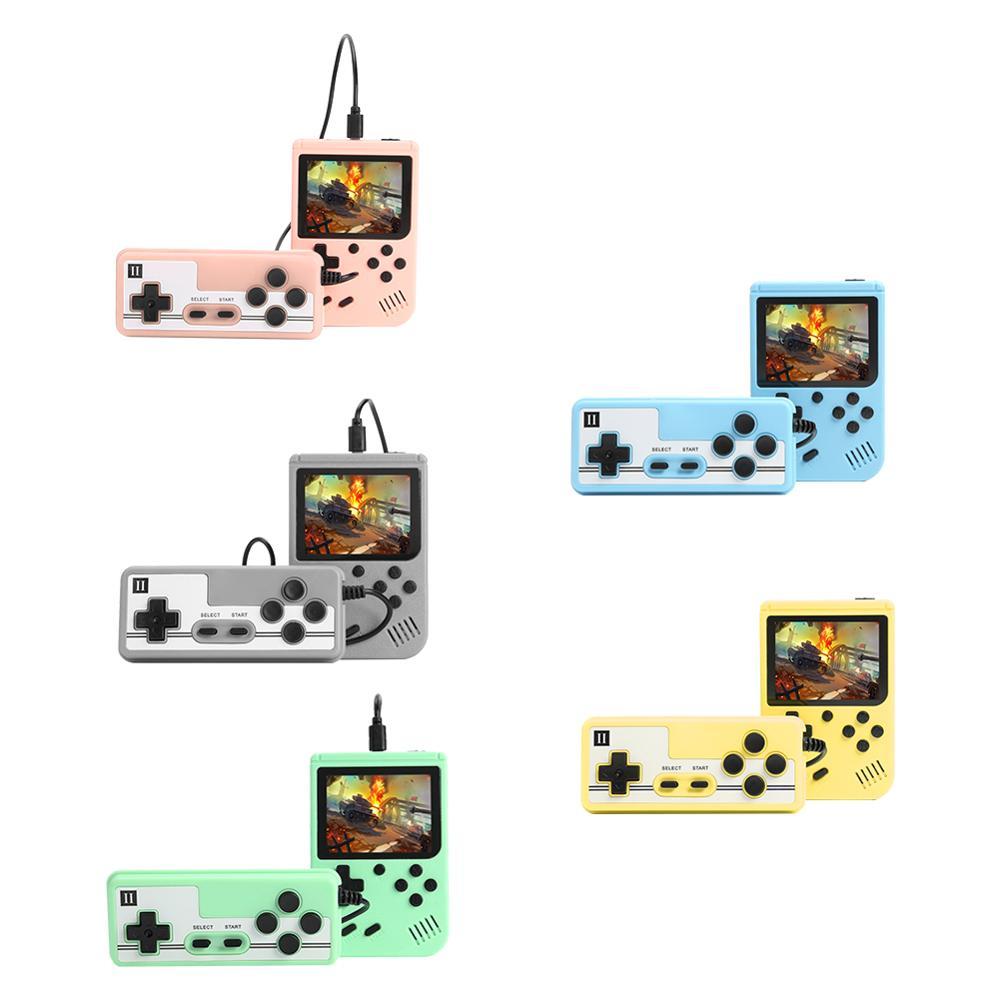 Consola de juegos Retro de bolsillo con pantalla LCD de 3,0 pulgadas, portátil, portátil, 500 en 1, reproductor de videojuegos con controlador para adultos