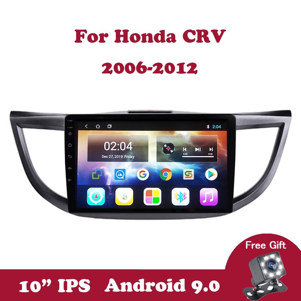 Rádio do carro de android 9.0 para honda crv 2012-2015 CR-V 2.5d ips reprodutor multimídia 4 núcleo gps navegação rádio automático wifi dvd 2 din