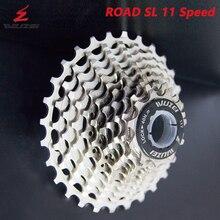 Rueda libre ultraligera WUZEI SL CNC 11 S 11-28/32/34/36T bicicleta Cassette Flywheel 11 velocidad K7 grava 11V piñón