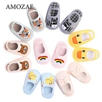 summer cute animal pattern baby slippers toddler baby boys girls shoes soft sole indoor non slip new fashion baby slippers