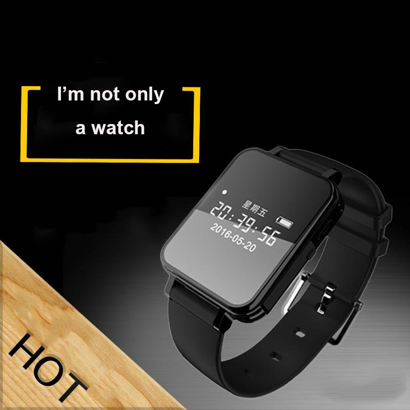 V81 Digital Voice Activated Audio Recorder Watch Dictaphone Sports Pedometer HIFI Music Player Smart Wrist Watch MP3 recorder enlarge