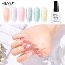 Elite99 10ml cristal coquille vernis à ongles Gel tremper hors UV LED couche de finition couche de Base couche dongle apprêt paillettes Art des ongles manucure ensemble