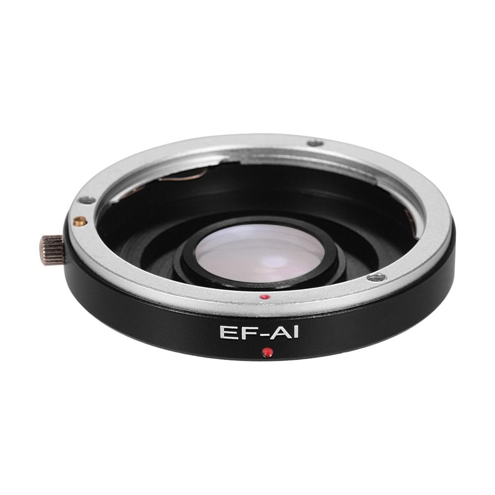 Anillo adaptador de lente EF-AI enfoque Manual para lente Canon EF EF-S para adaptarse a Nikon AI F montaje cámara SLR para Nikon D3500 D5600 D610