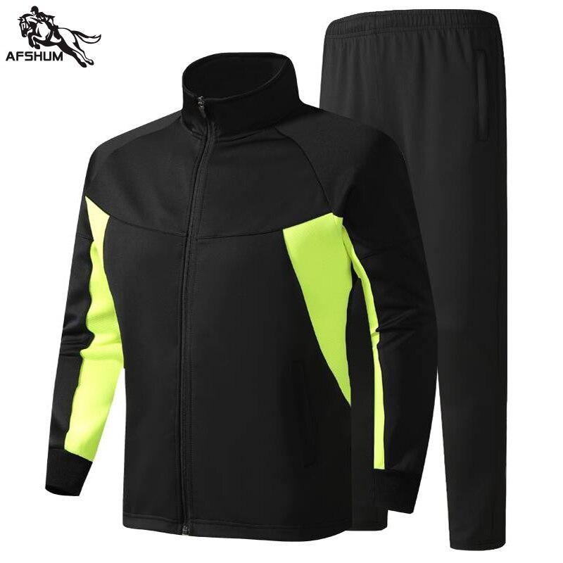 Спортивный костюм для мужчин комплект L-3XL 4XL 5XL мужские 2 шт. комплекты одежды на весну-осень новая молодежная повседневная одежда фитнес спо...