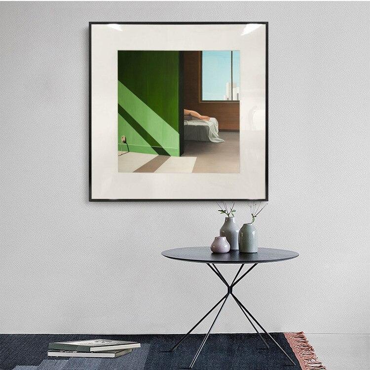 Darhk no principal moderno minimalista creativo decorativo pintura restaurante dormitorio Sala colgante pintura Hotel modelo