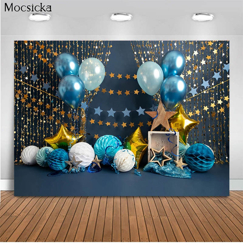 photography background soul train photo booth props party decorations disco birthday banner photo background tv dance background Birthday Party Theme Background Balloon Stars Background Decoration Style Child Portrait Photo Background Photography Banner