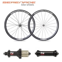 carbon wheelset 700c clincher 30mm 28 or 25mm wide tubeless road bike wheels novatec as61cb fs62cb carbon straight pull hub