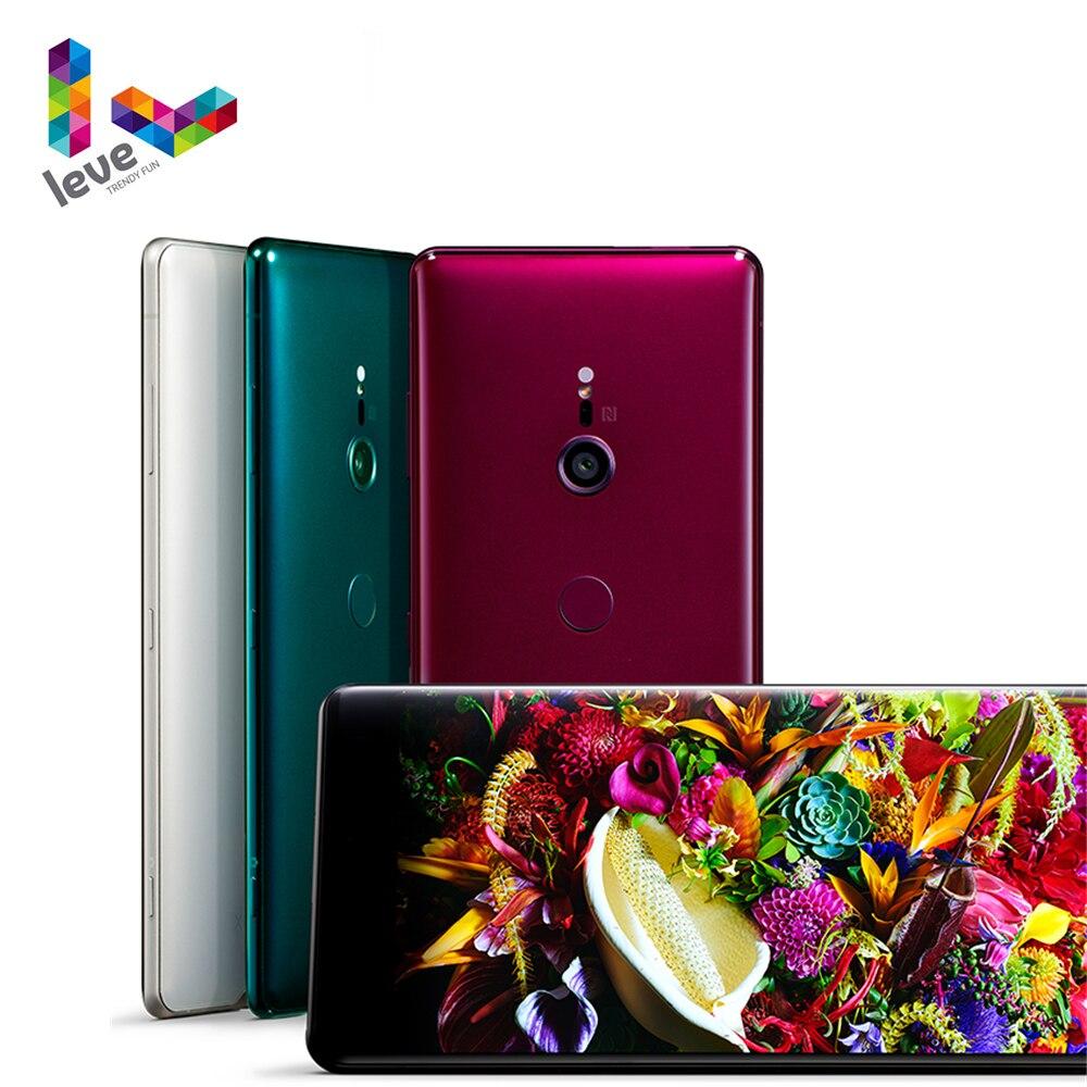 Разблокирована Sony Xperia XZ3 H9493 H9436 2SIM мобильный телефон 6,0 дюйм 4 Гб и 6 ГБ оперативной памяти, 64 Гб встроенной памяти, Octa Core, 19MP NFC 4 аппарат не привязан ...
