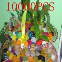 Perles deau en cristal 10000 pieces sac  Gel dhydrogel de sol en polymere  fleur mariage decoration  boules deau en croissance  grand decor de maison