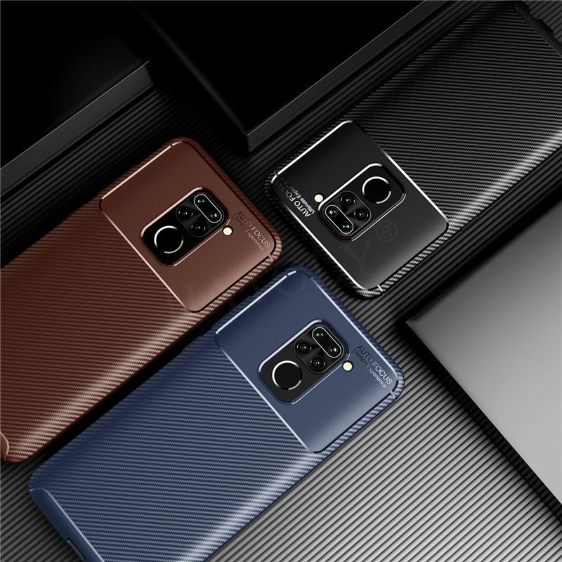 Pour Xiaomi Mi 9 10 Lite Pro étui Redmi Note 8 T 9 S 8 T 9 SE S 7 CC9 A3 K20 K30 couverture arrière souple Anti-coup pare-chocs mat étui de téléphone