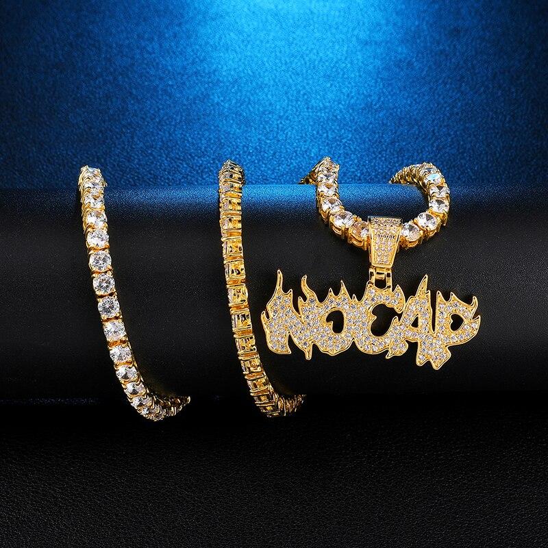 Us7 bling iced para fora nenhum tampão pingente & neckalces micro pavimentado cz neckalce para o homem hip hop jóias