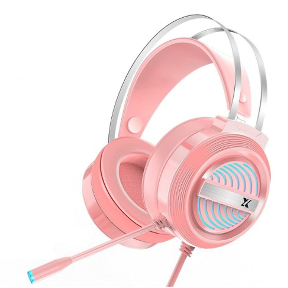 PC Wired Earphone Headset PC Gamer Stereo Headphone Flexible Adjustable Mic Headset Profession Gaming Headset enlarge
