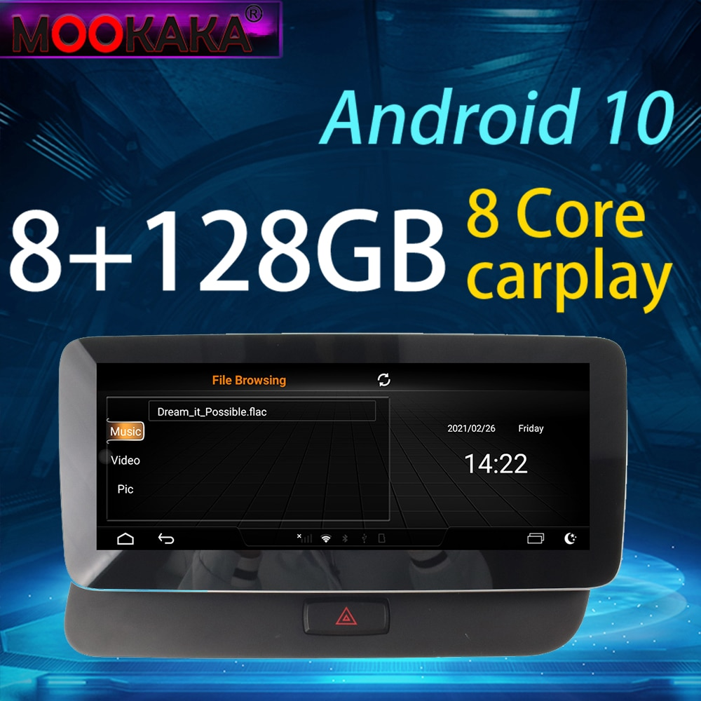 AliExpress - Car Video Radio Android Radio DVD Player Audio Multimedia GPS HD Touch Screen Radio For AUDI Q5 2009-2016 8G128G 10.25inch