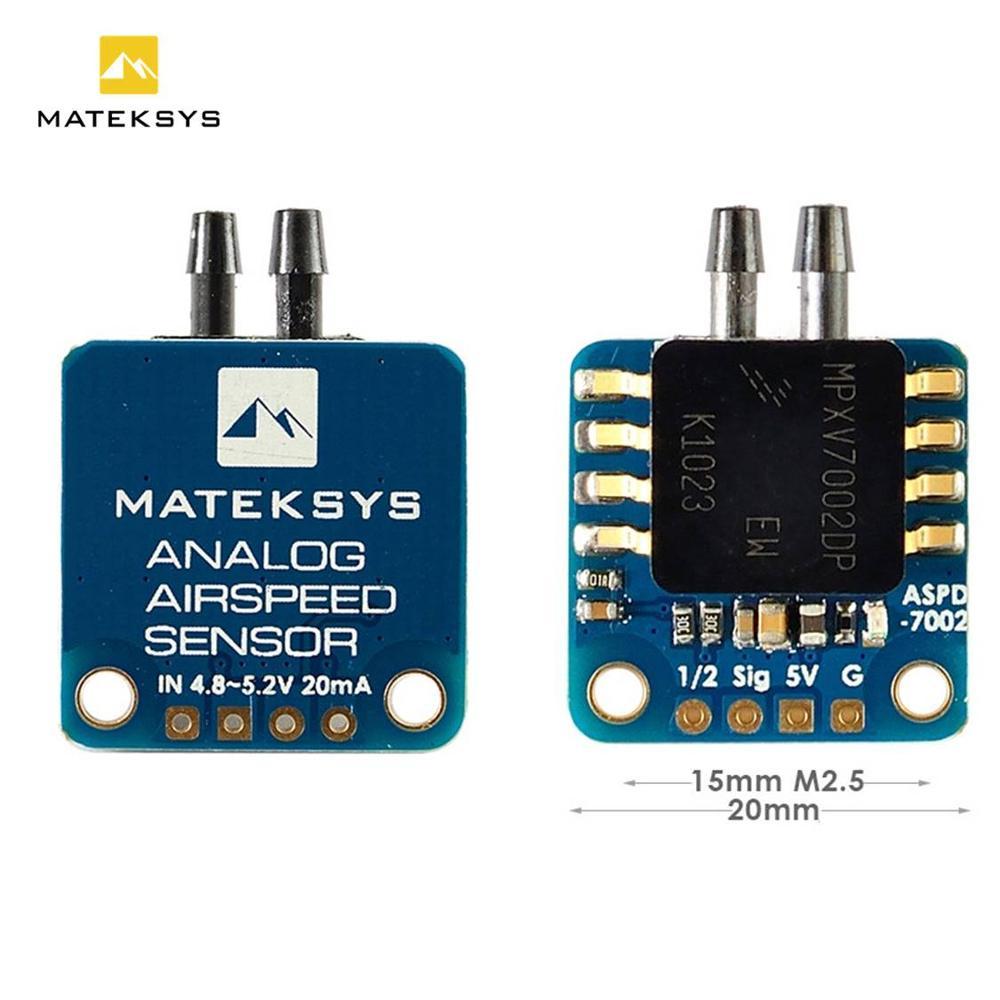 Matek System Mateksys Analog Airspeed Sensor ASPD-7002 for RC FPV Racing Drone Frame F405 F722 F411 WING