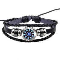 new fashion nuclear reactor shaped mens bracelet bracelet handmade diy beaded party club jewelry accessories 2021
