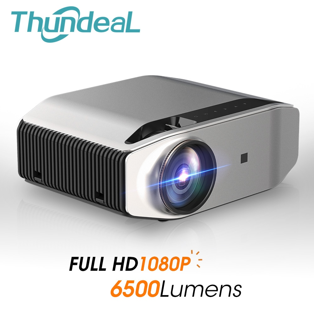 ThundeaL nativa de 1080P Full HD LED Proyector 3D WiFi inalámbrico multipantalla...