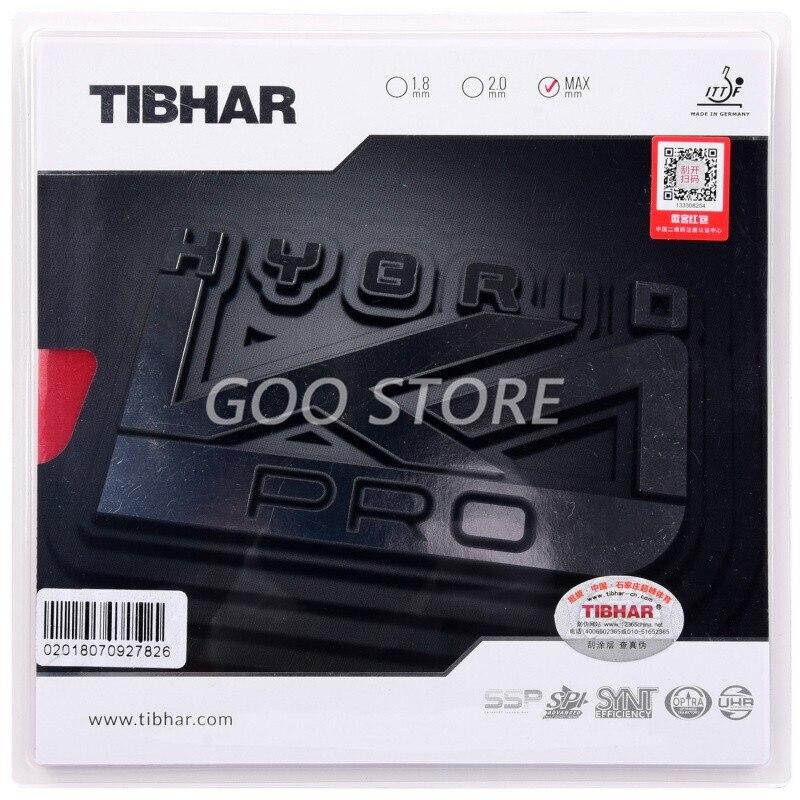TIBHAR K1 PRO, клейкая резиновая накладка для настольного тенниса
