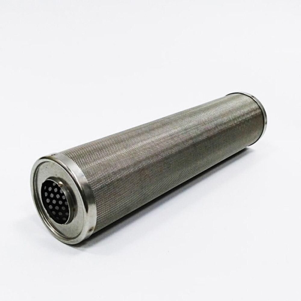 جهاز تنقية المياه الصناعي مقاس 5 بوصات ، الفولاذ المقاوم للصدأ SS304 ، مرشح منزلي قابل للتنظيف ، مصفاة شبكية 50/100/200/300